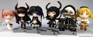 April 2 2012 - Kin's Nendoroid Collection - 01 by Kuro-Kinny