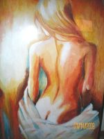 Naked woman. by artissx