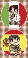 APH: Spain+Romano Bookmark by likethevirtue