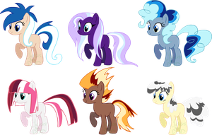 Point pony adoptables CLOSED by AdolfWolfed4Life