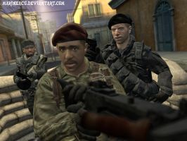 The Expendables and Soldier by MarineACU