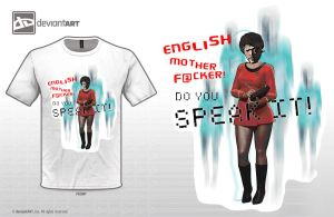 English mother f@cker! Do you speak it? by paintedbrain-nz