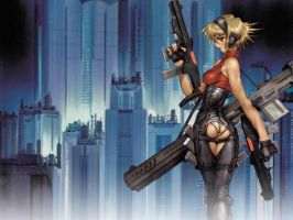 Shirow unknown by Kitsuchan59