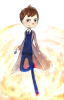 10th Doctor by milochi