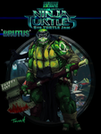 Skratchjamtmnt2014   5th Turtle Jam  - BRUTUS by shambolic-art