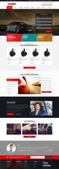 AS AutoParts Website Design by Specialisti