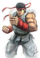 Ryu Fan Art by isaiahpaulcabanting