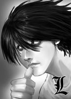 L from DeathNote by dylanliwanag