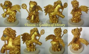 My little Pony Custom Goddess Victoria by BerryMouse