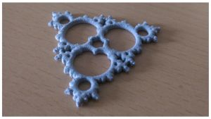 Mandelbrot triangle (3D-print of JWildfire mesh) by thargor6