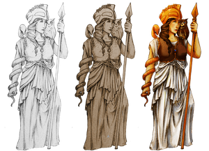 Athena - 3 Versions