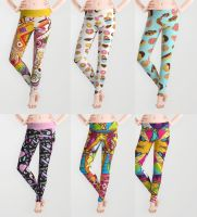 Acrylicana Leggings by marywinkler