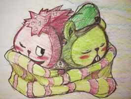 Flaky X Flippy by Jessie-KatCat