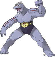 Machoke by Xous54