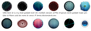 Tonev's Sidebar clocks by tonev