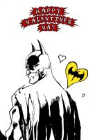 A valentine for my Batman by Neutron-Flow