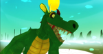 mmd newcomer dragon costume + DL by Valforwing