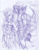 Deities- Sketch by tiffa