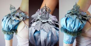 Bird Cage Armor Sleeve by Pinkabsinthe