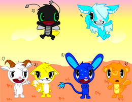 Adoptables 11:CLOSED: by Jeffery-Cat