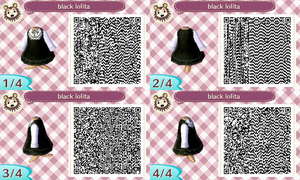 Black Lolita Dress qr code by xGobstopper