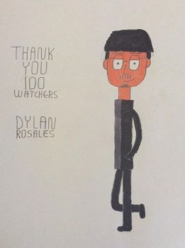 Thank You 100 Watchers by DylanRosales