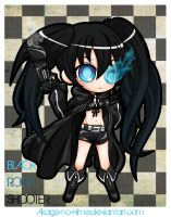 black rock shooter by Akage-no-Hime