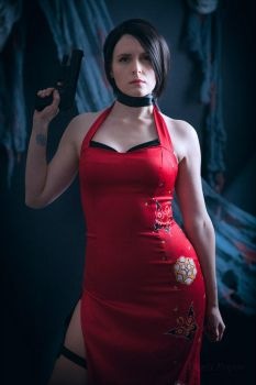 Ada Wong (Resident Evil) by Centroja
