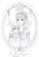 Ciel and Rachel Phantomhive by MadameUndertaker