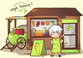MAGE: Vege House by yukihomu