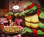 tmnt vs pizza by m7781