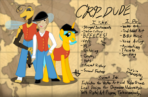 Meet the Crp_dude by Crpdude