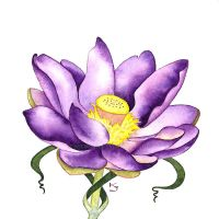 Lotus: Seventh Chakra by IvieMoon