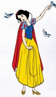 Snow White by Nonsensicle