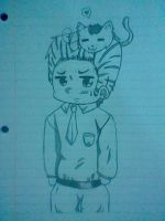 Chibi Germany and Itatabby by Sophy-Chan77