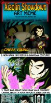 Chase Young Art Meme by Jburke2101