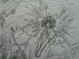 Cirno from Touhou by AbominalSnowDemon