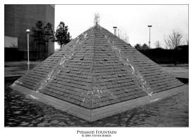Pyramid Fountain by twistedtechnolog