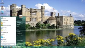 Castles-4 windows 7 theme by windowsthemes