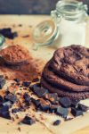 Chocolate Cookies by KimberleePhotography