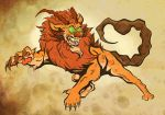 Manticore by ceallach-monster
