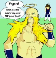 SSJ3 Nappa by ShiningMoon