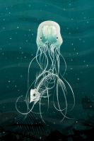 Box Jelly Fish by stuntkid