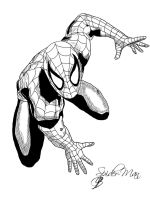 Spider-Man Ink. by LillithsBernard