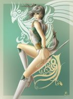 Yuria - character design by ZeroNis