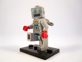 Lego robot by scoobsterinc
