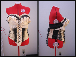 Corsets and Cameos (The March Hare Progress 01) by MissLaneyLuck