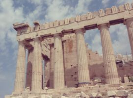 Acropolis in Athens by go4music