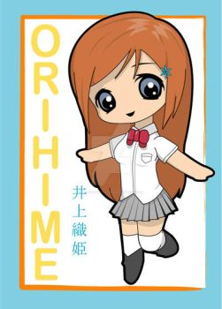 Chibi - Orihime by AnjiDaDistroyer