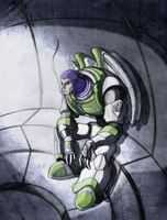 fan art buzz lightyear by elf-x